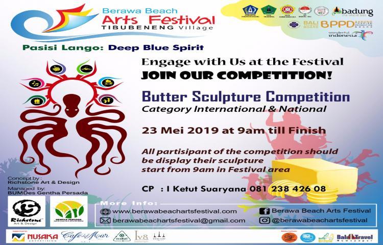 Butter Sculpture Competition Pasir - Berawa Beach Arts festival