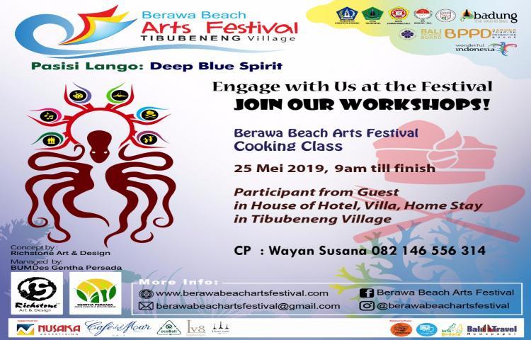 Cooking Class - Berawa Art Festival
