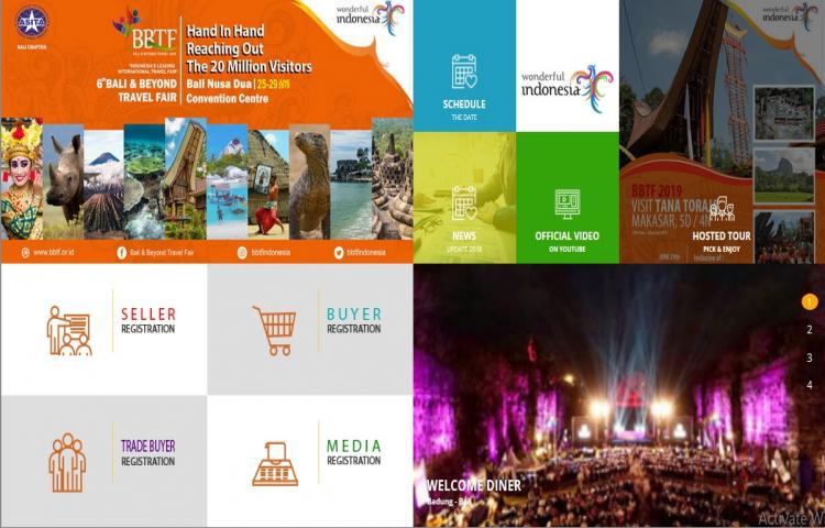 Jadwal Kegiatan Bali & Beyond Travel Fair 2019